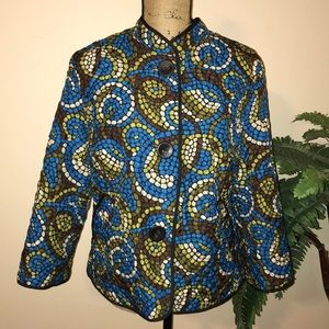 Ruby Rd. Patterned Jacket